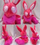 Soothing Dreamer: Pink (Anxiety Help Plush) by VanguardWingal