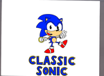 Classic sonic colored by Sonicfanman2