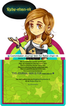 Commission Journal Skin for Rebe-chan-vk by BrightenYourSmile