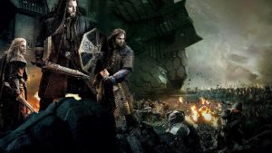 The Hobbit: Battle of the Five Armies Wallpaper by sachso74