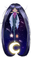 Solemn Angel of the Dusk Skies by Lady--Nyx