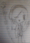Little Anime Drawing :D by starling40