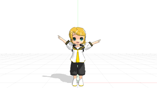 MMD Newcomer - Baby Rinto Kagamine by Bokeol