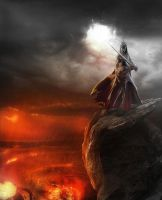 witchking of angmar Tolkien by inkmlab