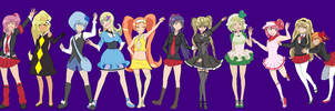 Shugo Chara Girls Remake With No Names by Boo247