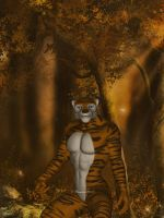 Tiger T Pose by chamirra