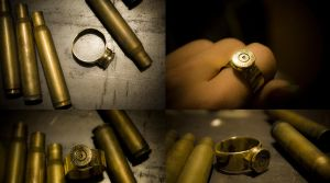 Ring (Bullet 7.62x63 Winchester) by MoranaDeath