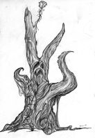 surreal tree by therealarien