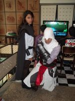 Maria Thorpe e Altair Cosplay by pamzynha