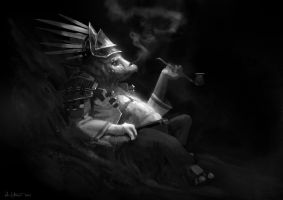 Alien Smoker by Vablo