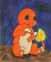 Charmander Trade by TsukiTsu