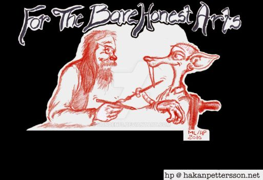 For the Bare Honest Arts by Hunden73