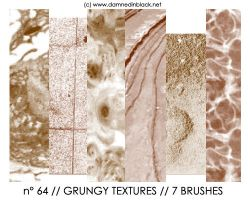 PHOTOSHOP BRUSHES : texturesII by darkmercy