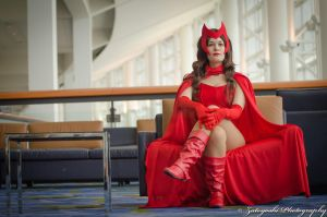 C2E2 Jessica as Scarlet Witch by N1k0nSh00ter