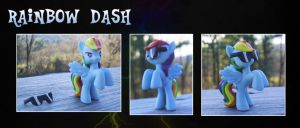 My Little Pony Rainbow Dash Blind Bag recolor by kaizerin