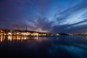 Stockholm at Night by sheiberart