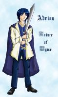 Adrian, Prince of Tyme by Coni