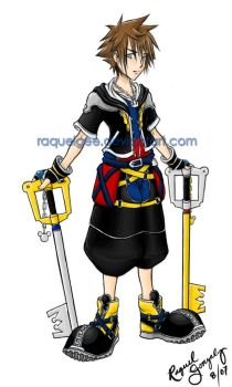 The Keyblade Master by RaquelGee