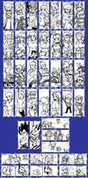 Miiverse Doodles 3 by Ukato-drawings