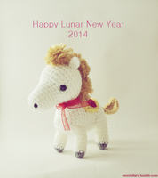 Horse - Lunar New Year 2014 by mochillery