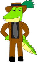 Albert the American Alligator by jacobyel
