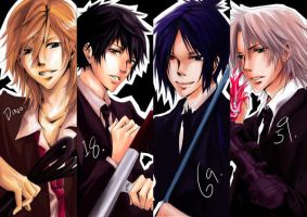 Vongola TYS bookmarks by Sobachan
