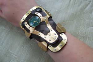 Steampunk Watch by kyphoscoliosis