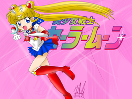 Bishoujo Senshi Sailor Moon by SailorBomber