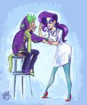 Rarity and Spike by egriz