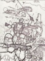 Clone Wars Rough Draft by RyanBodenheim