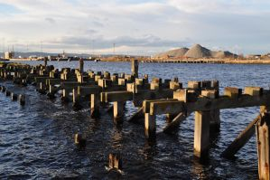 ruined pier by shayel410