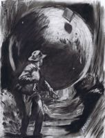 Indiana Jones by sketchmarcks
