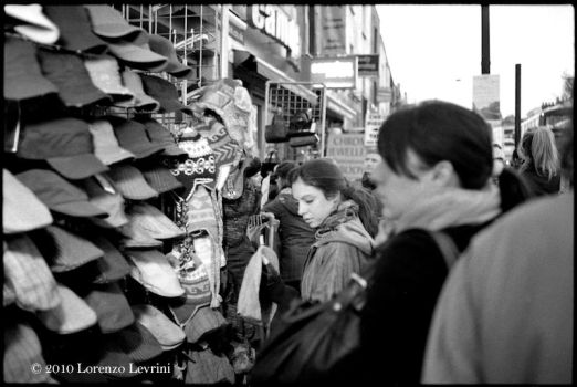 Camden High Street Hats by defiancetotale