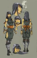 character sketches-2 by frame2frame