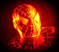 Spiderman by pumpkinsbylisa
