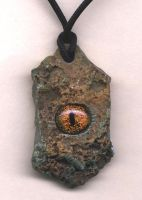 Dragon Eye Pendant by DonSimpson