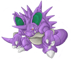Nidoking 'pixel' over by Pumapews