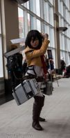 Attack on Titans (Mikasa) by Alessya-Meister