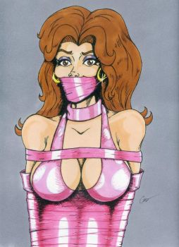 Donna Pretty in Pink by gustorak