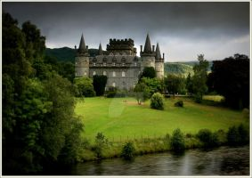 First Light .Inveraray Castle by ArwensGrace