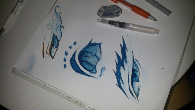 Some eyes practicing by rafaT007