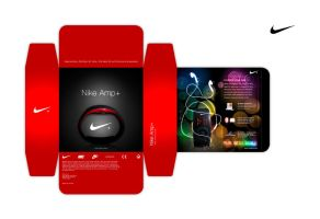 Nike Amp+ Packaging Design by willwadewan