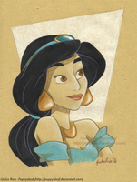 Recycled Jasmine by Poppysleaf