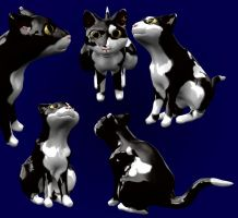 Cat in sculptris with video by KekPafrany