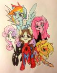 Spiders and Magic - Group Shot COMMISSION by ameliacostanza