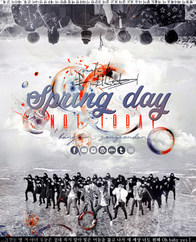BTS NOT TODAY/SPRING DAY YNWA by Fuckthesch00l