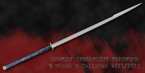 Spearpoint Farsword by MicahDC