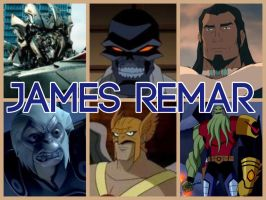 James Remar Characters by PhantomEvil
