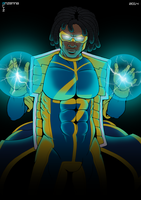 Static Shock by AnzennaArtz