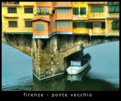 Florence - Old Bridge by kanes